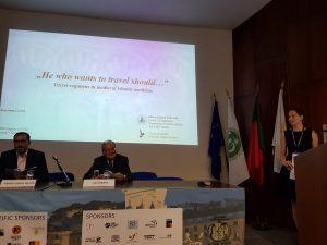 Prof. Benjelloun El Bachir és Prof. Dias Farinha megnyitják a szekciót, melynek első előadója kutatónk volt