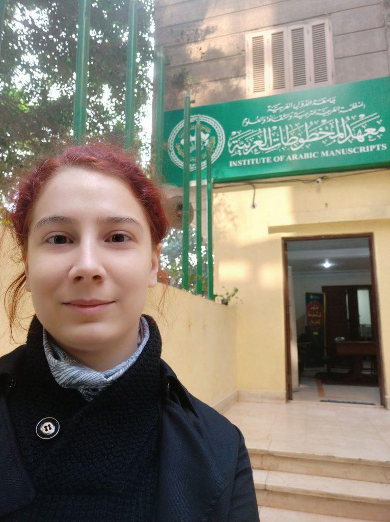 Kutatónk az Arab Kéziratok Intézeténél
