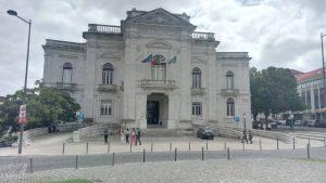 A Faculdade de Ciências Médicas épülete
